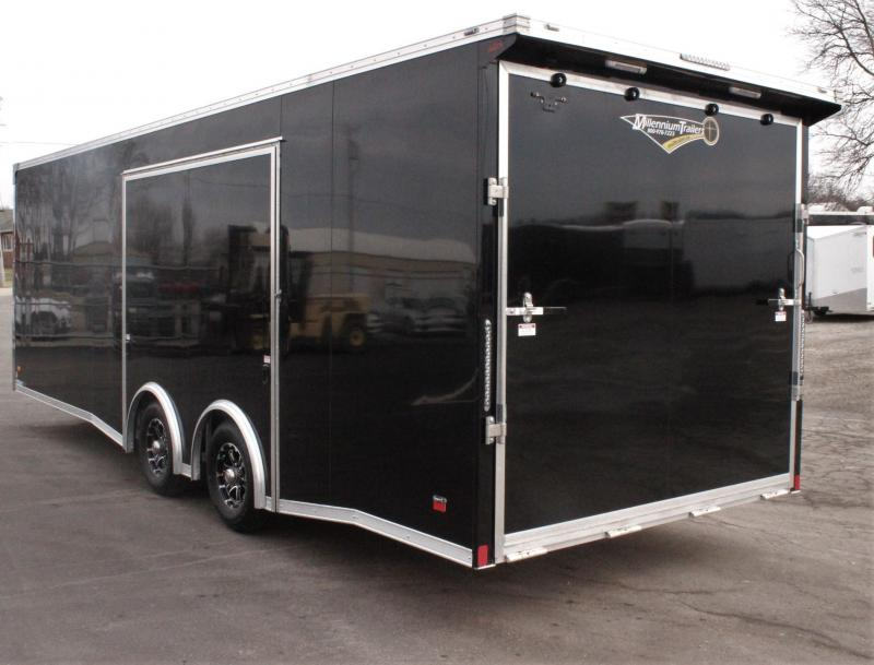 <b>CYBER WEEK SALE SAVE $2571</b> 2020 24' Alum Millennium Extreme Lite w/Large Escape Door w/Removable Wheel Well