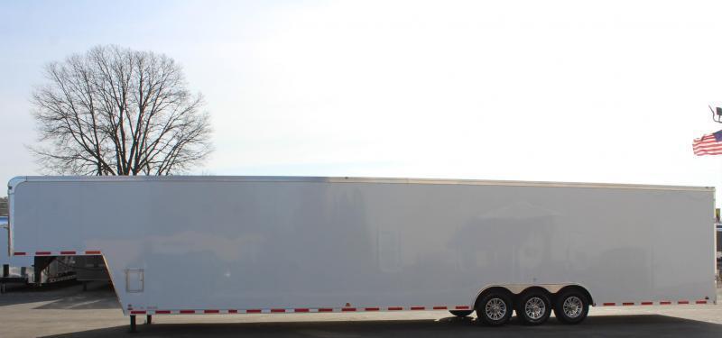 <b>NO FRILLS & READY SOON!</b>  2021 48' Millennium  Auto Master Gooseneck Trailer