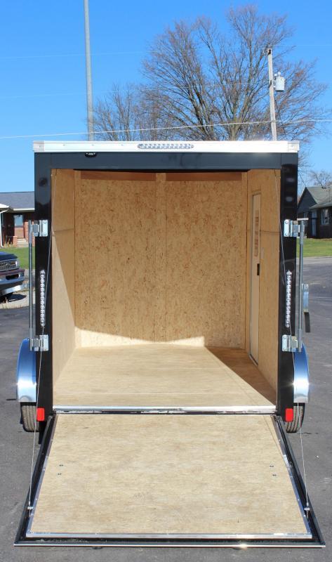 NOW AVAILABLE 2021 6'x10' Millennium Scout Cargo Trailer Ramp Door