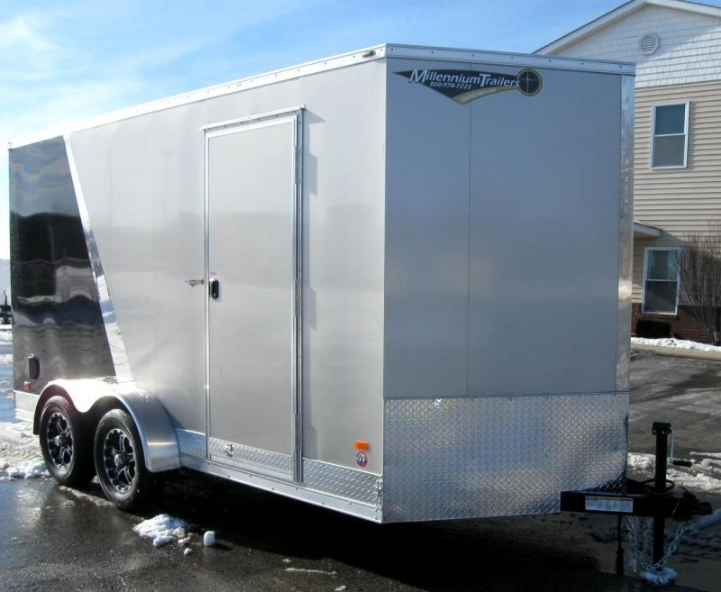 7'x14' Scout Cargo with Plus Pkg. 12 Extra High Alum Wheels PLUS Free Upgrades
