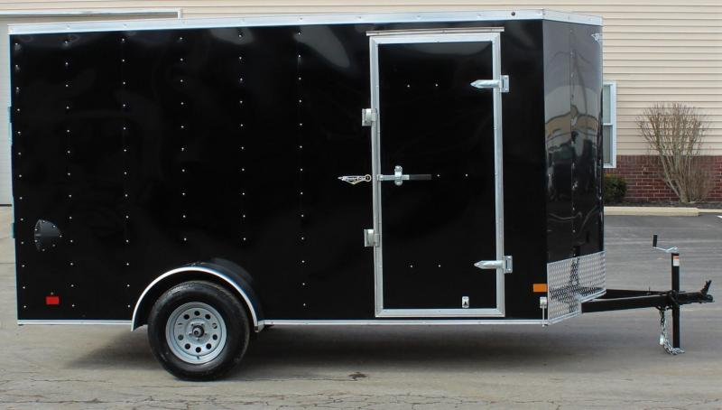 6'x12' V-Nose Millennium Passport Enclosed Cargo Trailer
