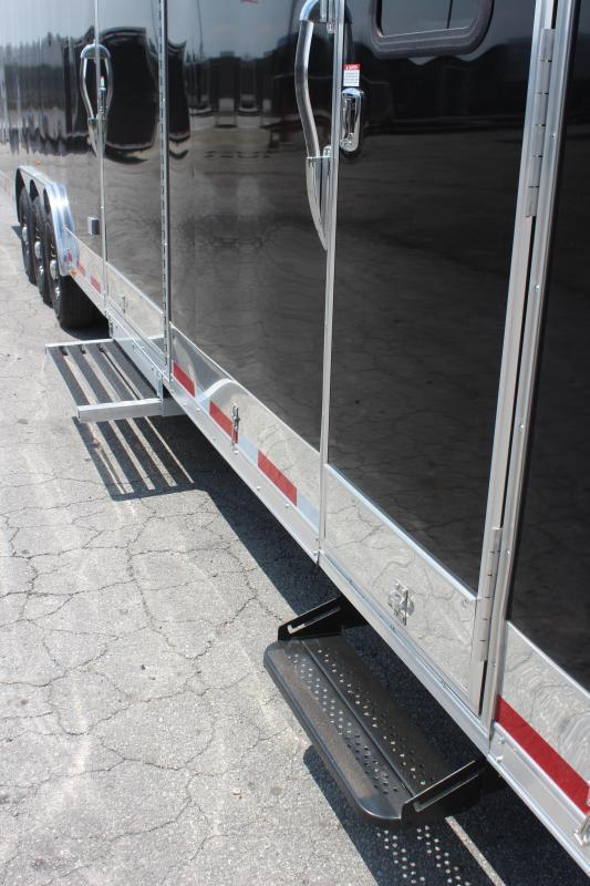 """<b>IN PRODUCTION</b> 2022 48' Millennium Race Trailer w/12'XE Living Quarters Sofa and Dinette 27'6"""" Garage Area"""
