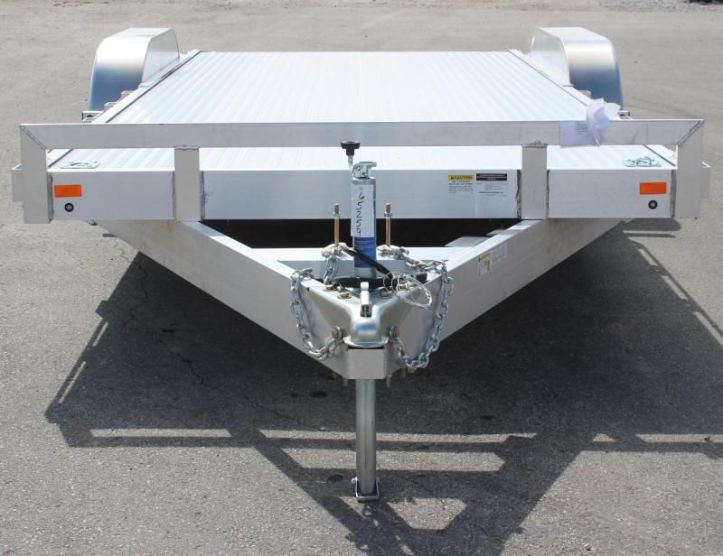 Call For Price And Availability 8'x20' Aluminum Deck Tilt Car Trailer