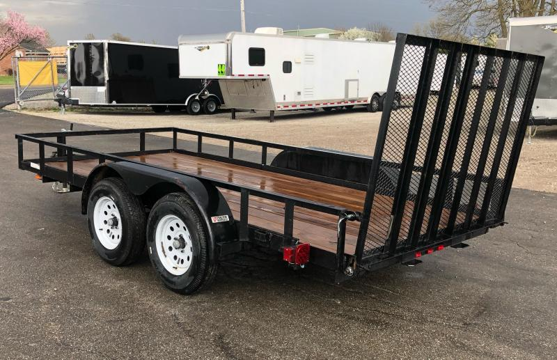 <b>TRADE JUST ARRIVED</b> 2020 Carry-On 6'x14' Utility/Landscape Trailer w/Ramp