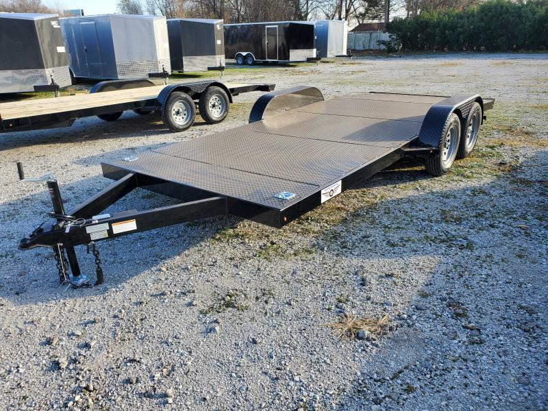 2021 Freedom Trailers 102X18 STEEL DECK Trailer