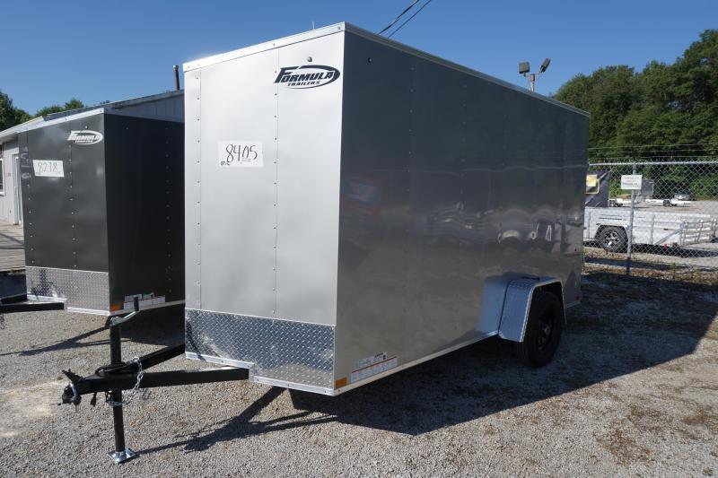 2021 Formula 6'6 6X12 Enclosed Cargo Trailer DD