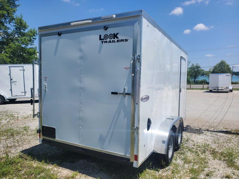 2022 LOOK ELEMENT 7X14 Enclosed Cargo Trailer