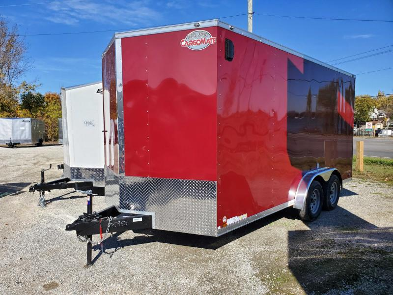 2021 Cargo Mate 7.5X16 Enclosed Cargo Trailer