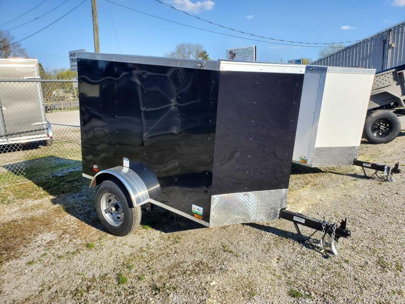 2021 Cargo Mate 4X6 Enclosed Cargo Trailer