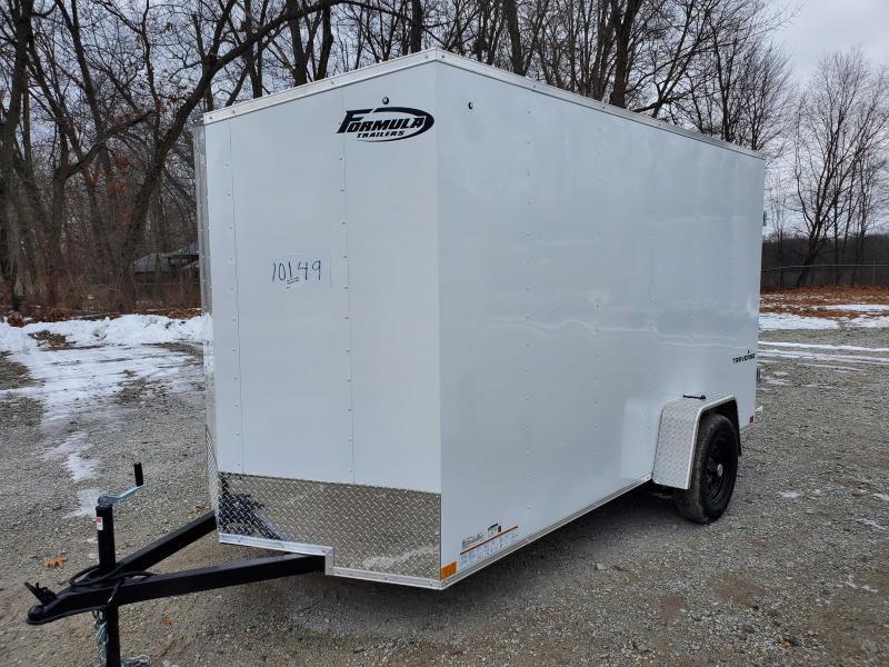 2022 Formula 6'6 6X12 Enclosed Cargo Trailer DD