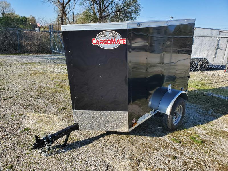 2021 Cargo Mate 4X6 Enclosed Cargo Trailer