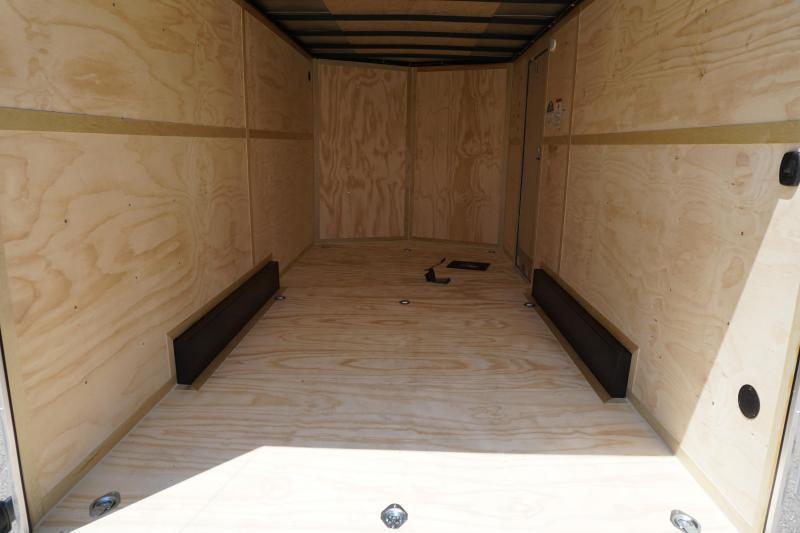 2021 Cargo Mate 7.5X16 Enclosed Cargo Trailer