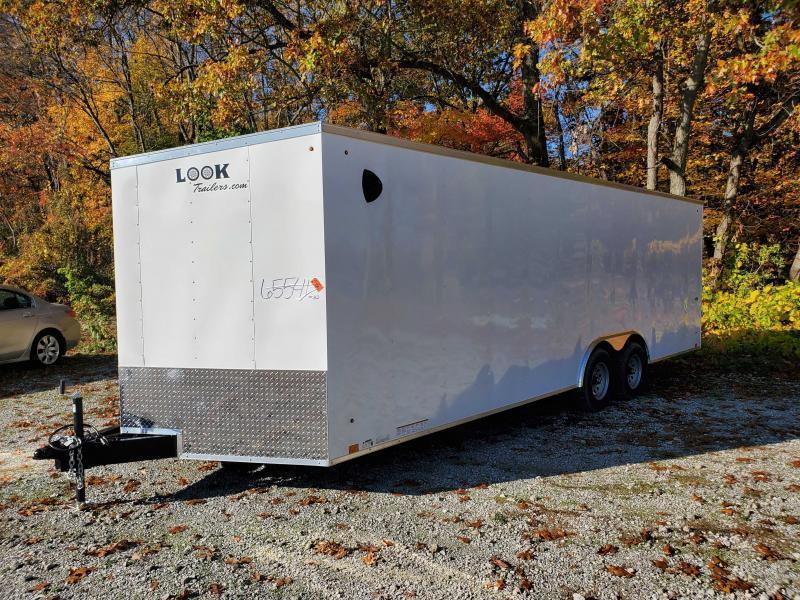 2022 8.5X24 Enclosed Cargo Trailer