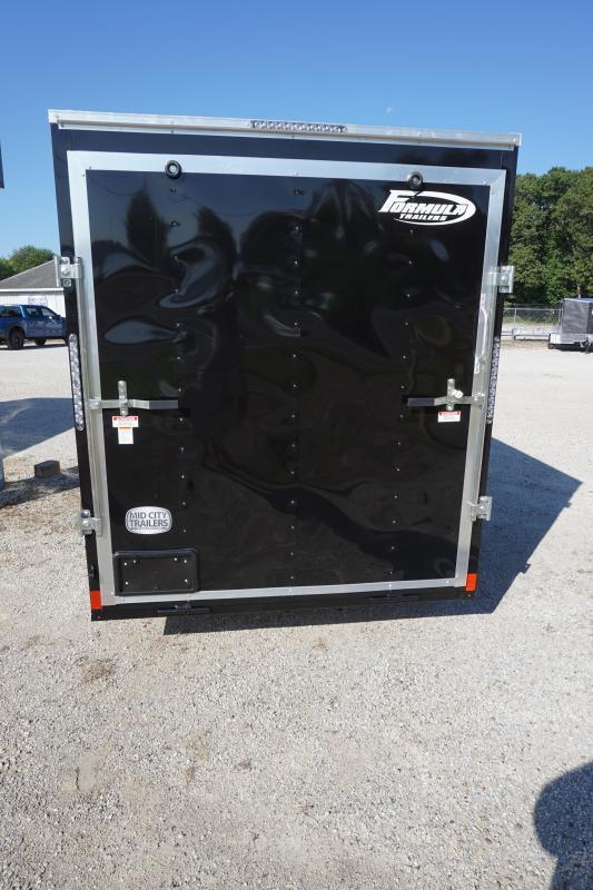 2022 Formula 6' 6X12 Enclosed Cargo Trailer