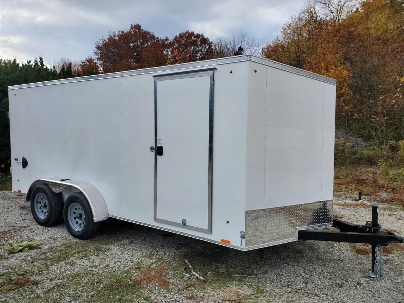2021 LOOK 7X16 Enclosed Cargo Trailer
