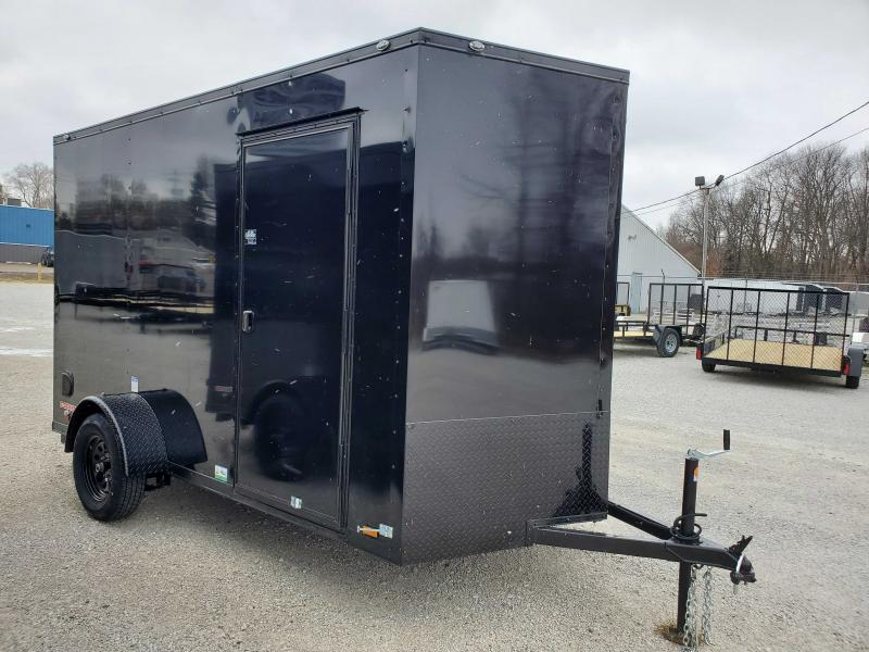 2021 Cargo Mate 6.5X12 BLACKOUT Enclosed Cargo Trailer