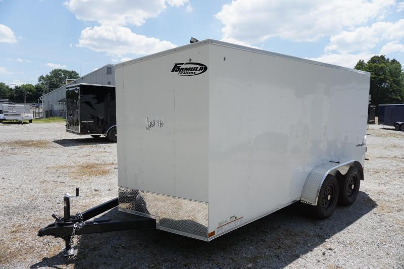 2021 Formula Trailers 7X14 Enclosed Cargo Trailer