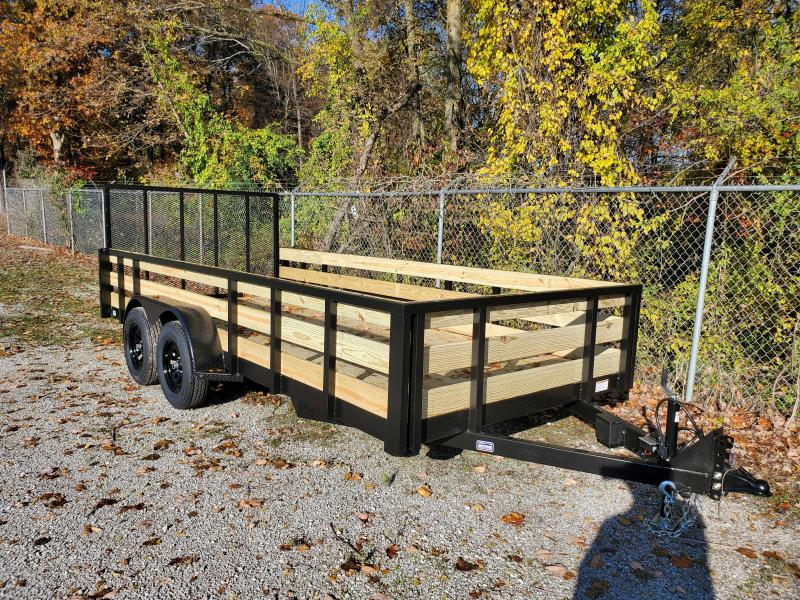 2020 Nation Tank and Trailer 7X16 Utility Trailer