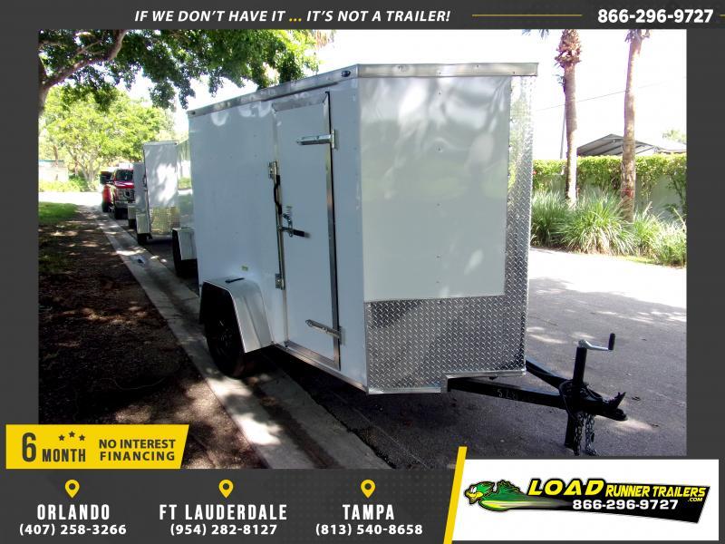 *116405* 5x8 Enclosed Cargo Trailer |LRT Haulers & Trailers 5 x 8
