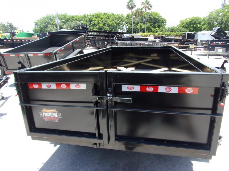 *115817* 6x12 5 TON Dump Trailer |LRT Trailers & Dumps 6 x 12