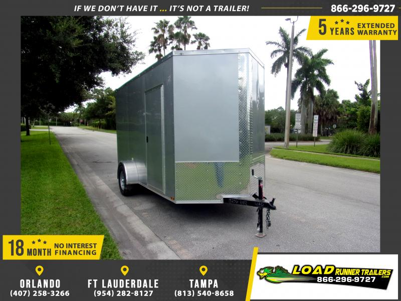 *111067* 6x12 Enclosed Cargo Trailer |LRT Haulers & Trailers 6 x 12
