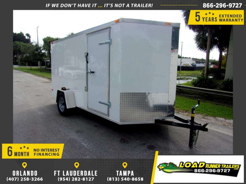 *115137* 6x12 Enclosed Cargo Trailer |LRT Haulers & Trailers 6 x 12