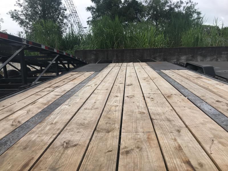 *110654* 8.5x25 Gooseneck Flatbed Deck Over Trailer |LRT Haulers & Trailers 8.5 x 25