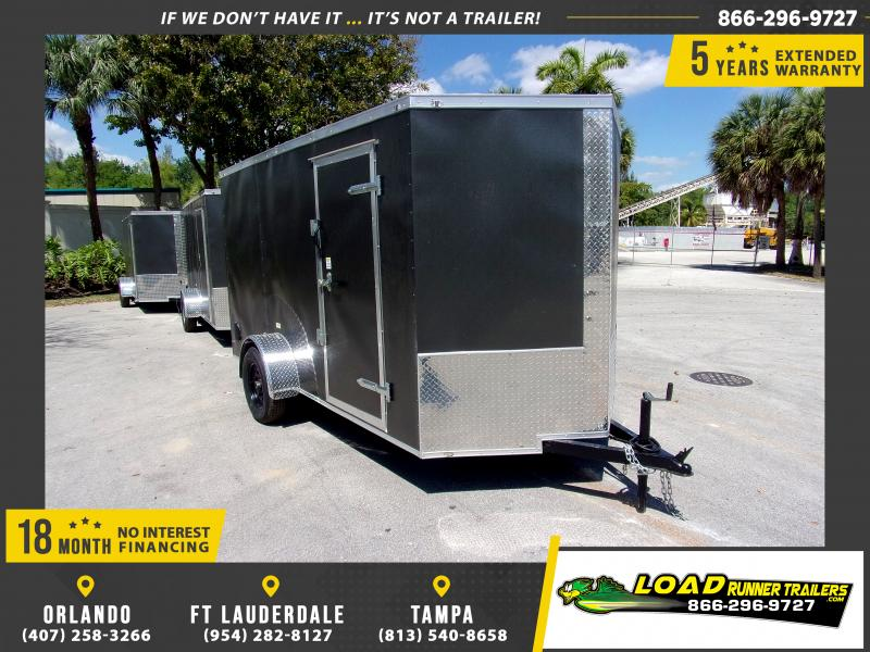 *114658* 6x12 Enclosed Cargo Trailer |LRT Haulers & Trailers 6 x 12