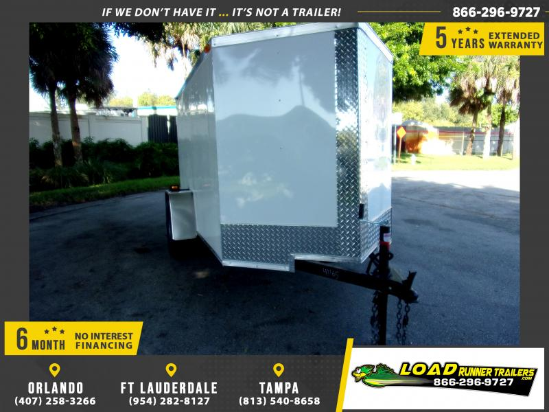 *115855* 5x8 Enclosed Cargo Trailer |LRT Haulers & Trailers 5 x 8