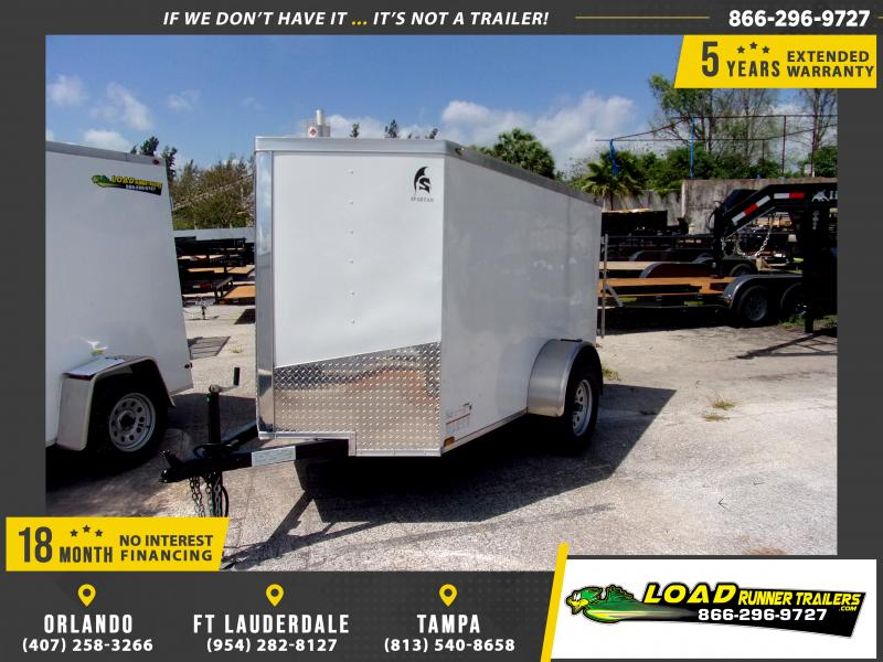 *113998* 5x8 Enclosed Cargo Trailer |LRT Haulers & Trailers 5 x 8