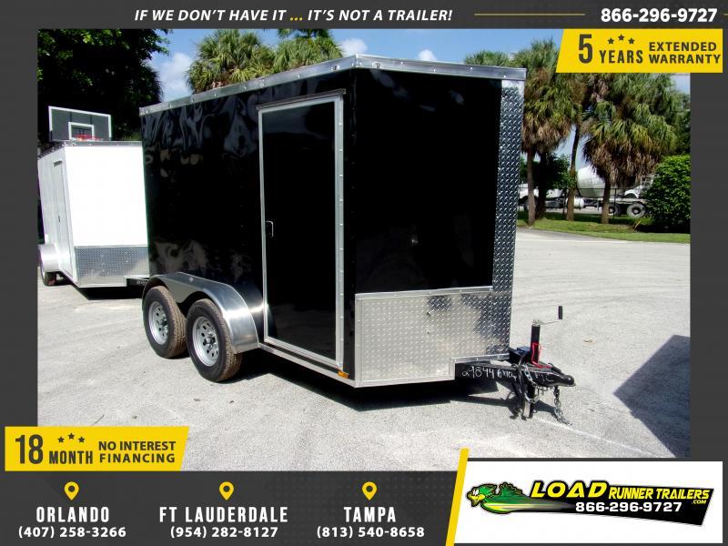 *117793* 6x10 Enclosed Cargo Trailer |LRT Tandem Axle Trailers 6 x 10