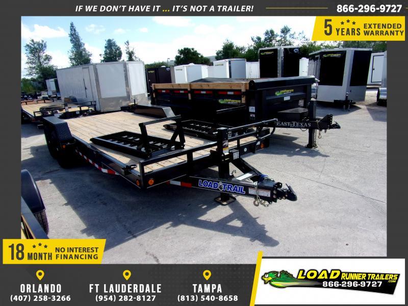 *115474* 7x20 Equipment Trailer |LRT Tandem Axle Trailers 7 x 20