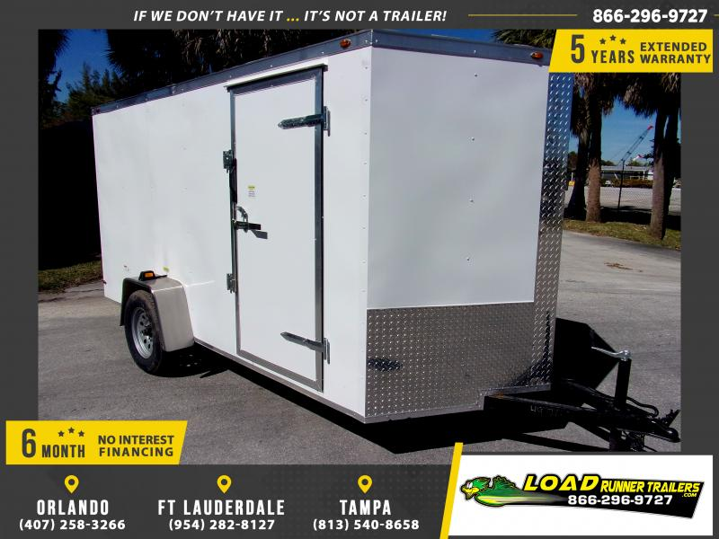 *113617* 6x12 Enclosed Cargo Trailer |LRT Haulers & Trailers 6 x 12