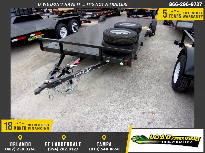 *112896* 7x20 Car Trailer |LRT Tandem Axle Trailers 7 x 20
