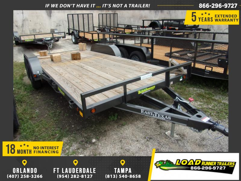 *112892* 7x18 Car Trailer |LRT Tandem Axle Trailers 7 x 18