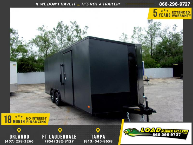 *109817* 8.5x20 Enclosed Cargo Trailer |LRT Tandem Axle Trailers 8.5 x 20