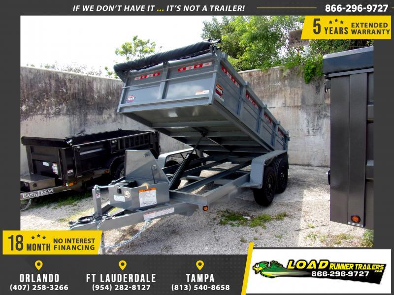 *114364* 6x12 5 TON Dump Trailer |LRT Trailers & Dumps 6 x 12