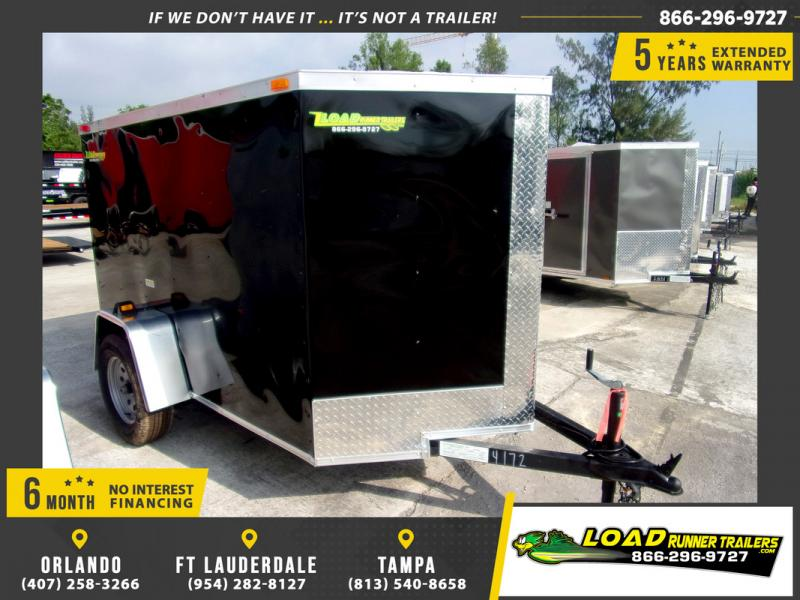 *109449* 5x8 Enclosed Cargo Trailer |LRT Haulers & Trailers 5 x 8