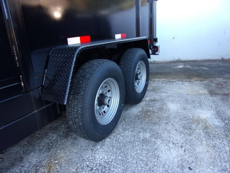 *112479* 7x16 Dump Trailer |LRT Tandem Axle Trailers 7 x 16
