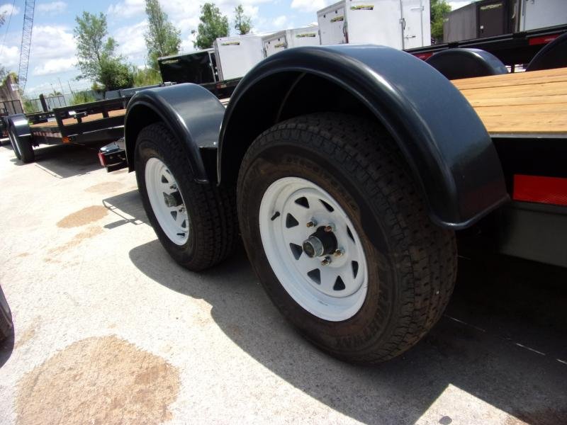 *115124* 7x18 Car Trailer |LRT Tandem Axle Trailers 7 x 18