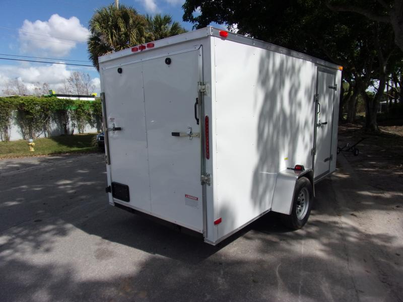 *113747* 6x12 Enclosed Cargo Trailer |LRT Haulers & Trailers 6 x 12
