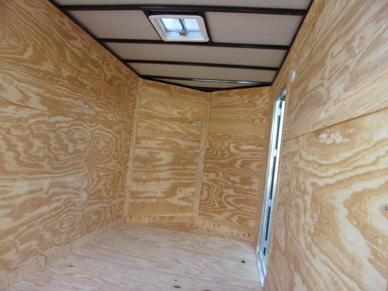 *115831* 6x10 Enclosed Cargo Trailer  LRT Haulers & Trailers 6 x 10