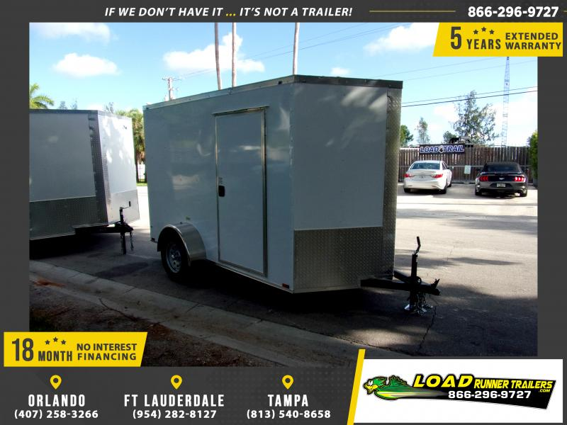 *115831* 6x10 Enclosed Cargo Trailer |LRT Haulers & Trailers 6 x 10