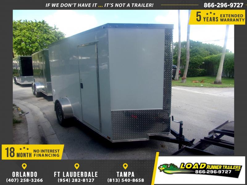 *116974* 6x12 Enclosed Cargo Trailer |LRT Haulers & Trailers 6 x 12