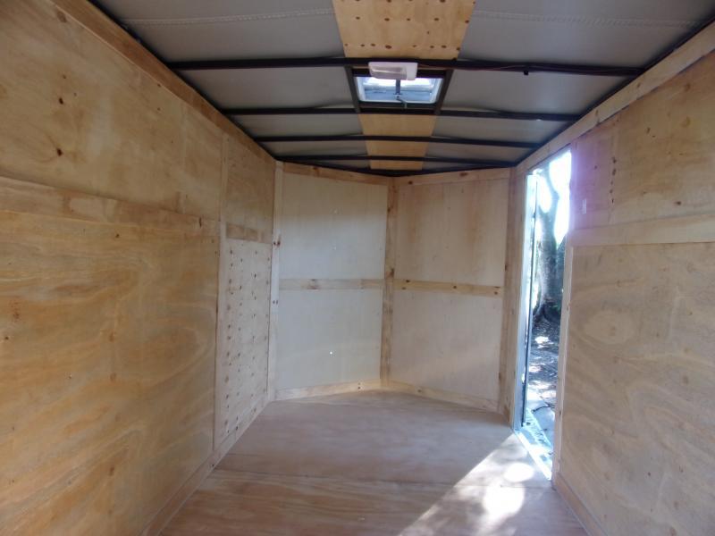 *111828* 6x12 Enclosed Cargo Trailer  LRT Haulers & Trailers 6 x 12