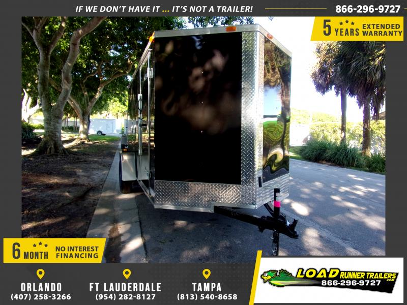 *111828* 6x12 Enclosed Cargo Trailer |LRT Haulers & Trailers 6 x 12