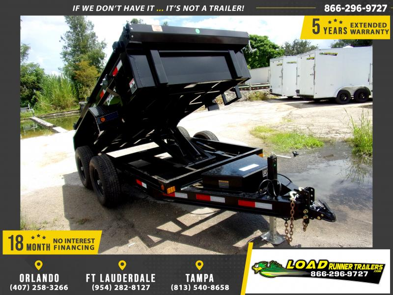*116491* 5x10 6 TON Dump Trailer |LRT Dumps and Trailers 5 x 10