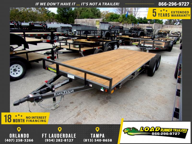 *113247* 7x18 Car Trailer |LRT Tandem Axle Trailers 7 x 18