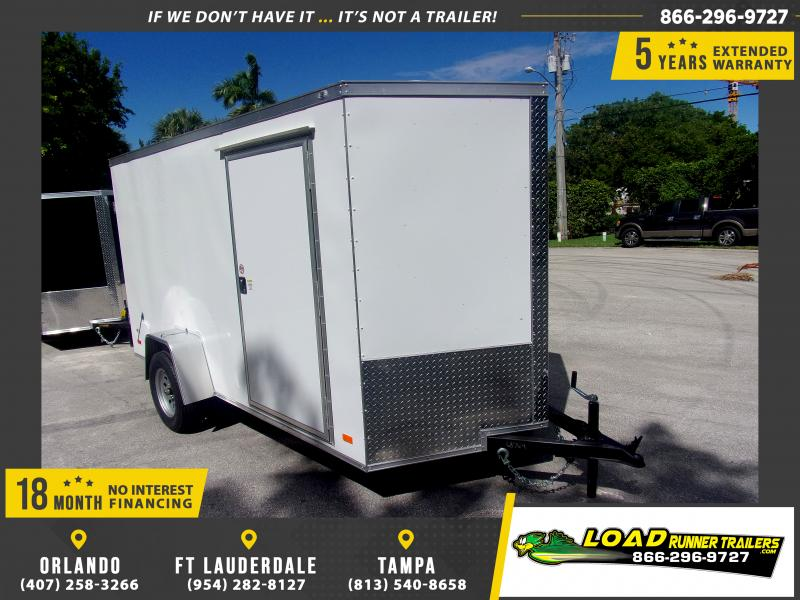 *117930* 6x12 Enclosed Cargo Trailer |LRT Haulers & Trailers 6 x 12