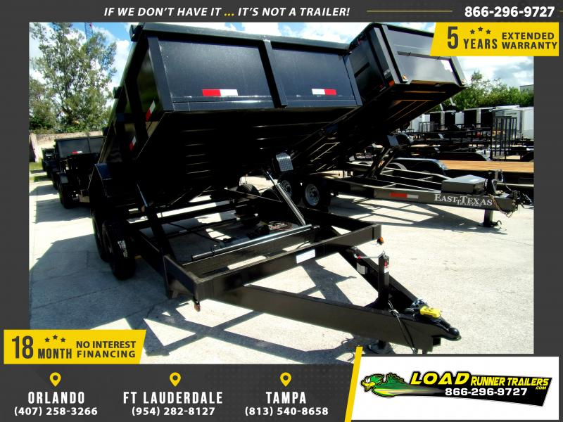 *117475* 7x14 Dump Trailer |LRT Tandem Axle Trailers 7 x 14